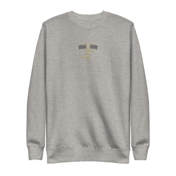 unisex fleece pullover carbon grey 5fd8f55c3f26d
