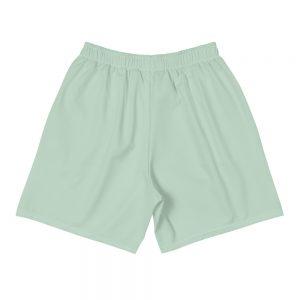 all over print mens athletic long shorts white back 60577b0824c8b